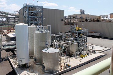 The first LignoBoost plant was started up at Domtar's pulp mill in Plymouth in 2013.